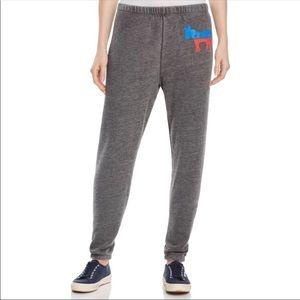 NEW WILDFOX donkey democrat gray sweatpants L